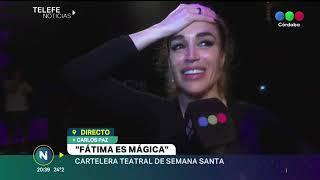 Fátima Florez, lo destacado del teatro de Carlos Paz en Semana Santa