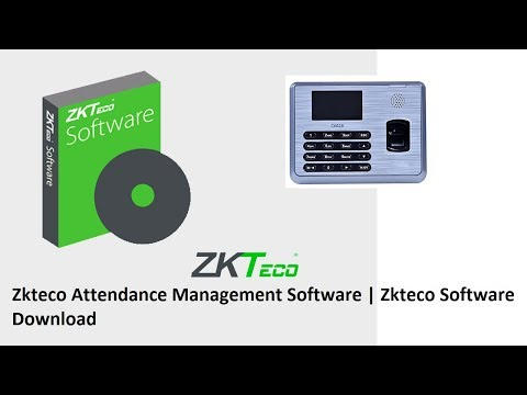 How To Zkteco Software Download And Installation Full Video