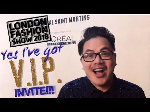 CENTRAL SAINT MARTINS BA FASHION PRESS SHOW 2018  |  VLOG#70