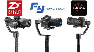 Gimbal Shootout: Moza Air vs Feiyu-Tech a2000 vs Zhiyun-Tech Crane v2