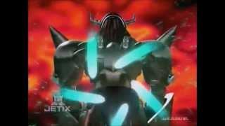 Piedmon vs WarGreymon & MetalGarurumon