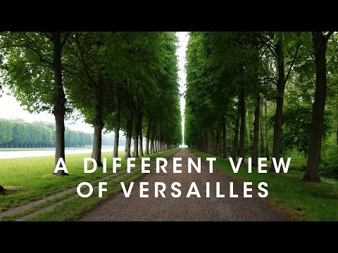 A Different View of the Gardens - Bike About Versailles Two