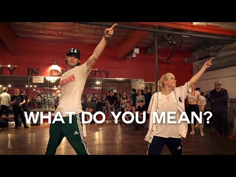 Justin Bieber - What Do You Mean? - Choreography by @NikaKlj