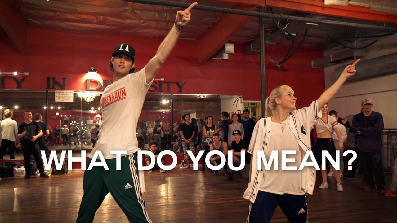Justin Bieber - What Do You Mean? - Choreography by @NikaKljun & @SonnyFp - Filmed by @TimMilgram