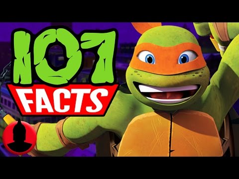 107 Facts About Teenage Mutant Ninja Turtles! (ToonedUp #66) @ChannelFred