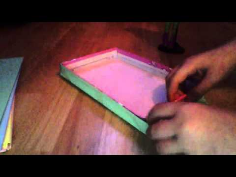 Tuto comment faire un lit youtube - Fabriquer une cheminee en carton ...