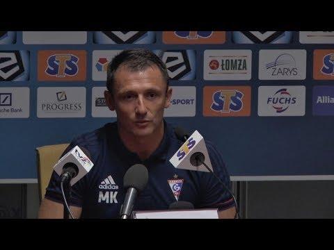 Konferencja: Górnik Zabrze 3-1 Legia Warszawa (15.07.2017)