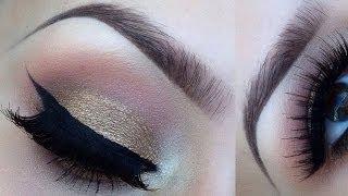 Kardashian inspired bronze smokey eye tutorial Thumbnail