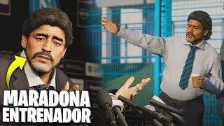 ¡EL MEJOR MODO HISTORIA QUE HE VISTO! *Maradona ENTRENADOR*