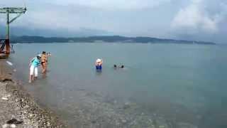 Пицунда.Абхазия,пляж,лето. 2015(Отдых в Абхазии.Пицунда.Лето 2015., 2014-07-25T13:00:09.000Z)