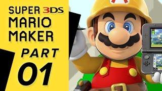 Super Mario Maker 3DS - Super Mario Challenge: WORLD 01