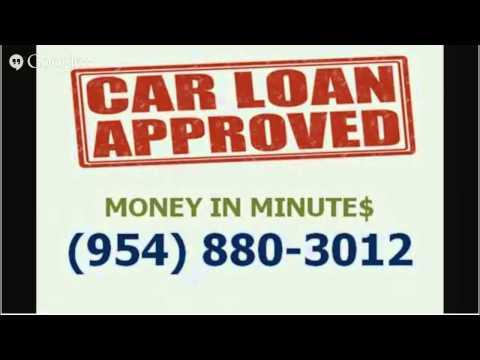 best deal automobile loan Broward County 954-880-3012