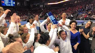 2019 Pac-12 Women's Gymnastics Championship: UCLA is the Pac-12 Champion for the second straight...