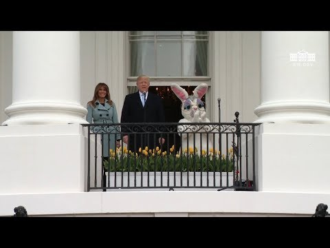 President Trump and the First Lady Host the White House Easter Egg Roll