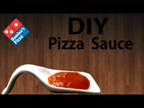 DIY Pizza Sauce at home just like Domino's !!! Simply Yummylicious ...