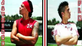 AC.MILAN Freestyle Football Skills Tutorials - JAYZINHO & FLO - Intro