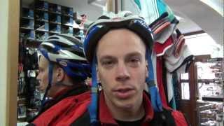 Jak mít správně nasazenou helmu na kole - RADÍ ŠTĚRBA KOLA