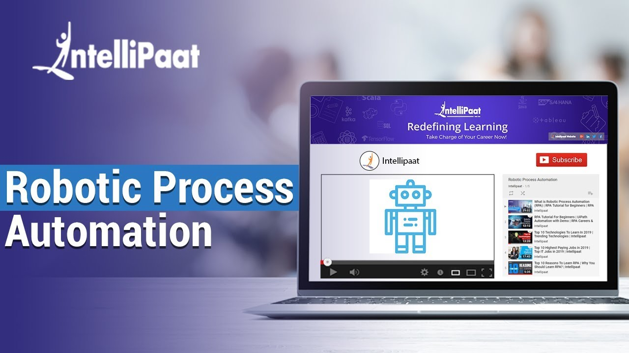 RPA Tutorial – Learn RPA from Developers - Intellipaat