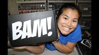 2017 December BAM! Box Unboxing
