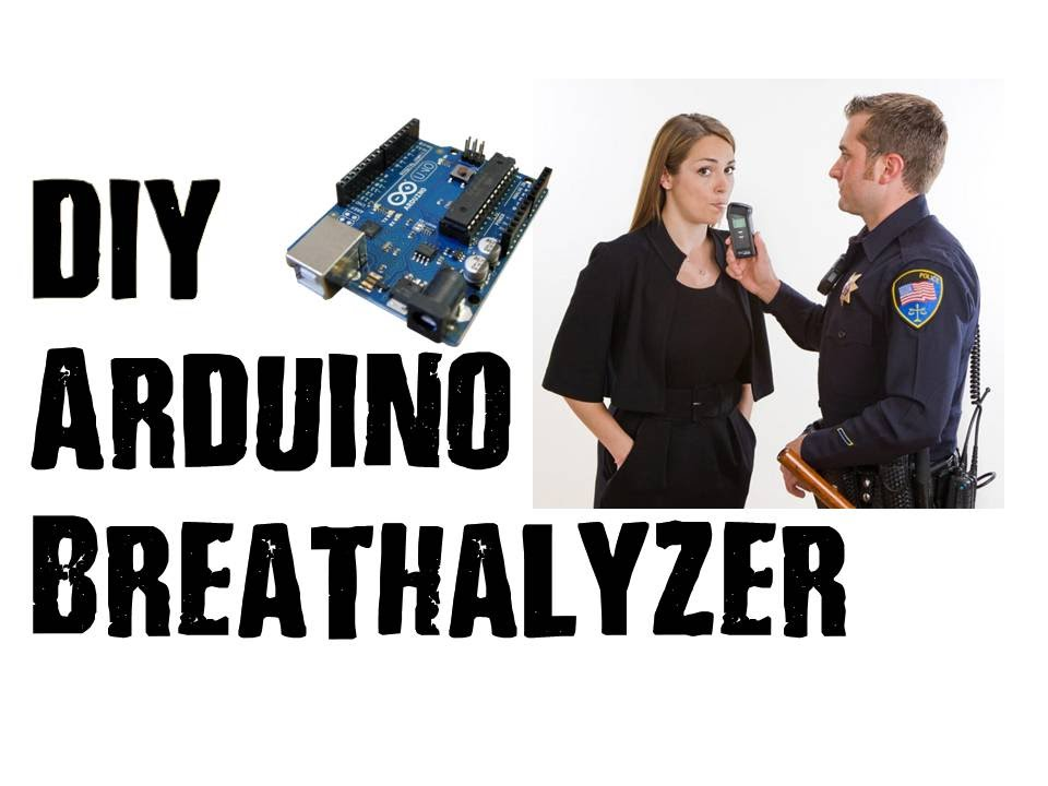 Arduino DIY Breathalyzer With MQ3 Alcohol Sensor & OLED Display
