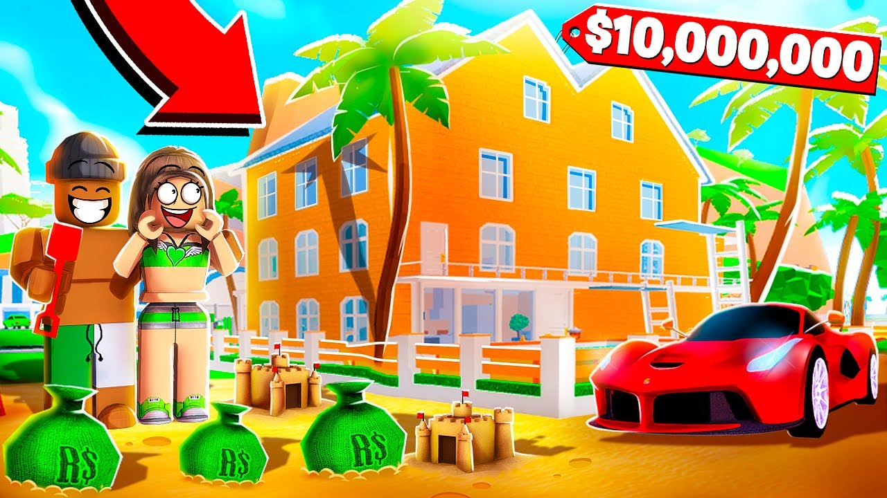 Roblox Super Beach House Tycoon...