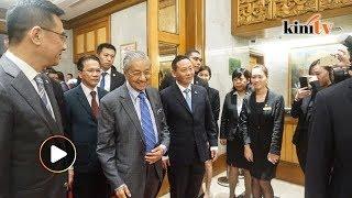Lawatan Dr Mahathir ke China bermula hari ini