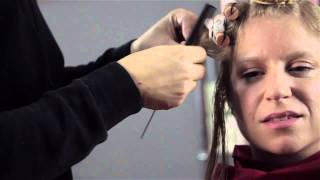 How Salons Do a Curly Perm : Styling Secrets