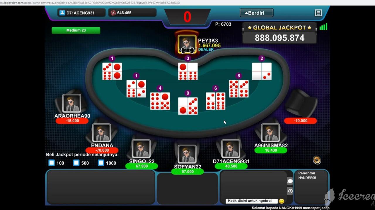 Cara Menang Main Game IDN Poker Di Situs RajaGenting - YouTube