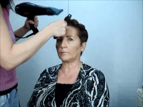 Peinado Elegante En Cabello Corto Youtube