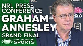 NRL Press Conference: Graham Annesley - Grand Final | NRL on Nine