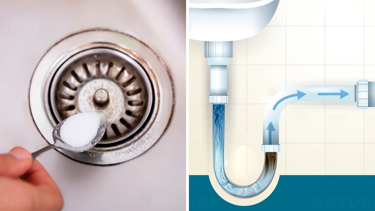 5 Really Easy Ways to Unclog Drains