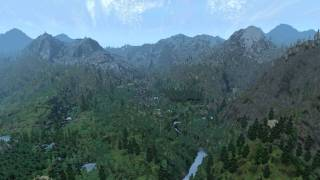 Oblivion with ultimate resolution LOD meshes and normal maps with better shadows II