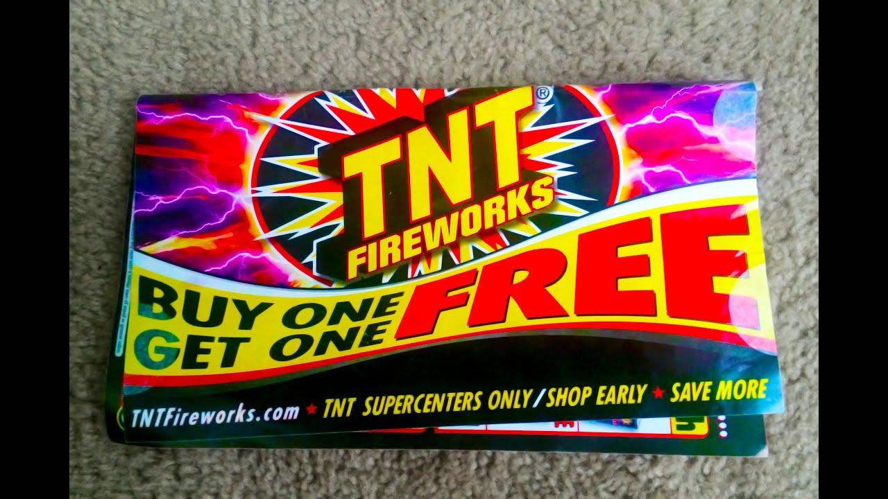 TNT Fireworks 2014 catalog