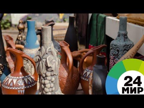 Искусство лепки древних кувшинов для вина возрождают в Армении - МИР 24