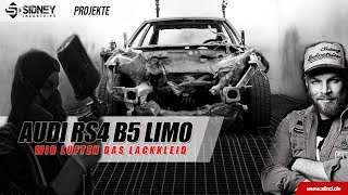 Die RS4 Limo -Wir lüften die Farbe | Sidney Industries