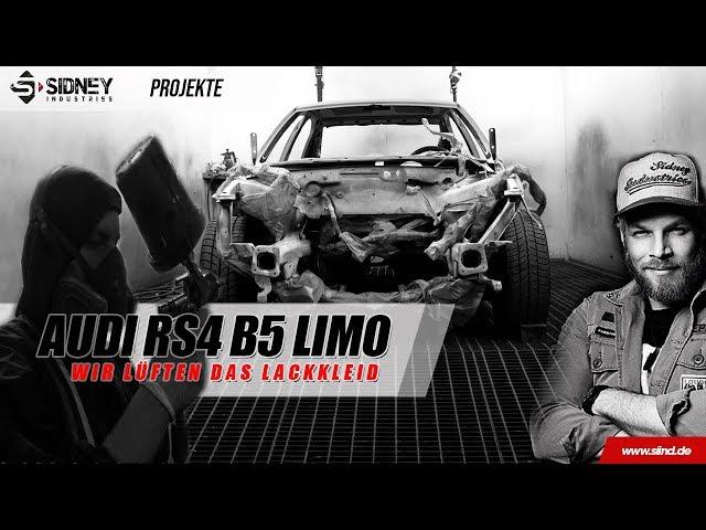 Die RS4 Limo -Wir lüften die Farbe   Sidney Industries