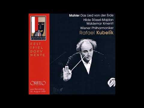 "Mahler ""Das Lied von der Erde"" Kmentt/Rössel-Majdan/Kubelik"
