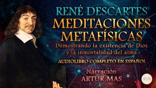 """René Descartes - Meditaciones Metafísicas (Audiolibro Completo en Español) """"Voz Real Humana"""""""