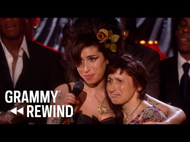 Watch Amy Winehouse Win Record Of The Year For