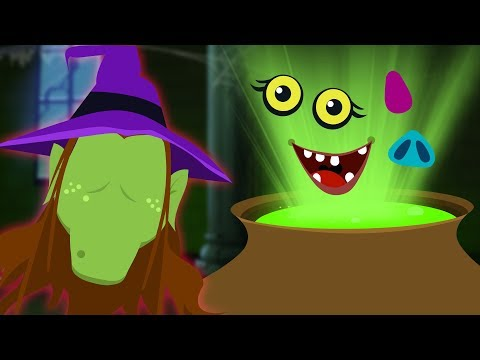 Midnight Madness | Crazy Witch Potion | Brand New Funny Kids Song By Teehee Town