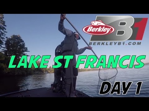 Berkley B1 Bass Tournament on Lake St Francis St Lawrence River Day 1