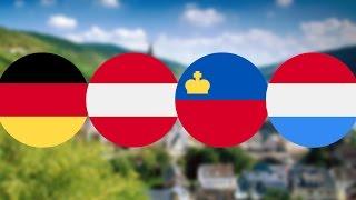 Германцы №3: немцы, австрийцы, люксембуржцы, лихтенштейнцы