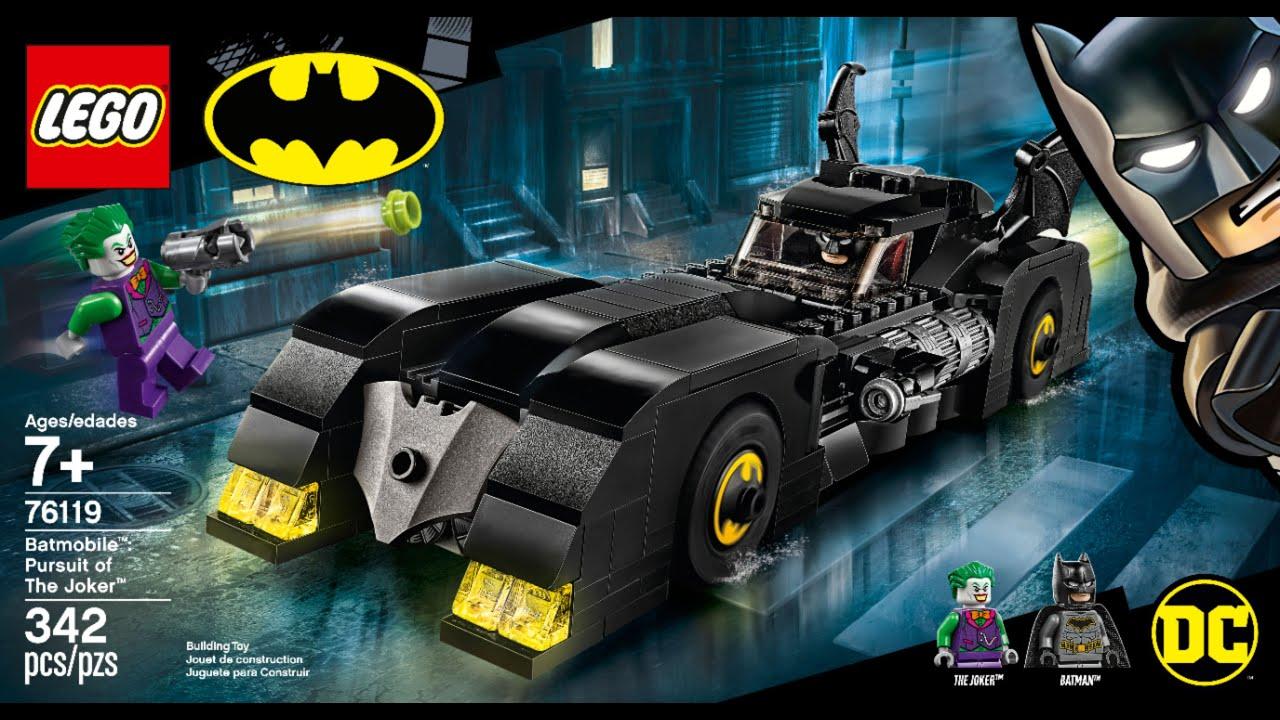 LEGO Timelapse   Batman   Batmobile Pursuit of The Joker ...