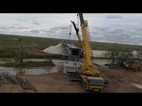 Монтаж, демонтаж , перевозка металлоконструкции весом 52 тонны длиной 32 метра