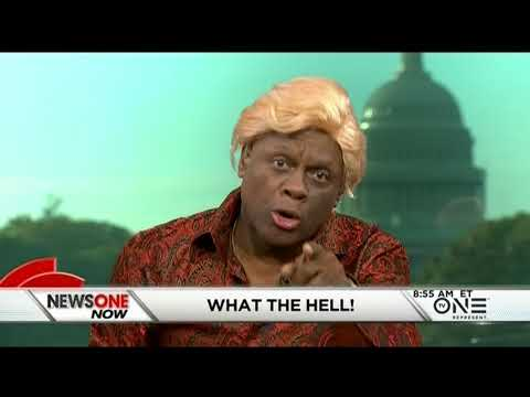 WTH?! Comedian Michael Colyar Has Hilarious Trumpian Moment On NewsOne Now