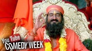 Tata Birla Madyalo Laila Movie Raghu Babu as Baba Comedy Scene | Sri Balaji Video