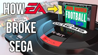 How EA Broke Sega | The Story Behind EA's Yellow Tab Genesis Carts