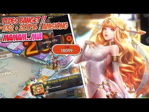 Line get rich : Pemanasan gameplay Nirvana  + Dapet Dark Sophie dari A+ Hairpin !