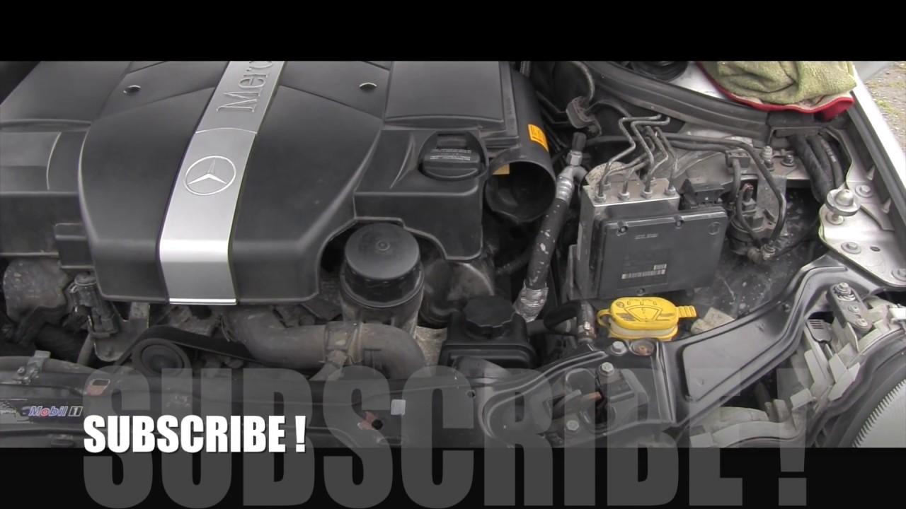 mercedes power steering fluid check [ 1280 x 720 Pixel ]