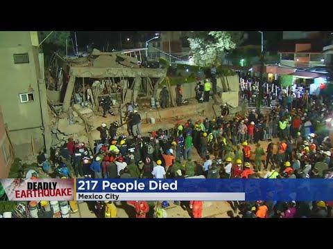 Hundreds Killed After 7.1 Magnitude Earthquake Hits Mexico City